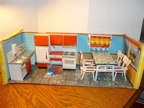 mid century küche 17 best images about dollhouses miniatures on