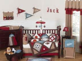 Boy Sports Crib Bedding All Sports 9pc Crib Bedding Collection