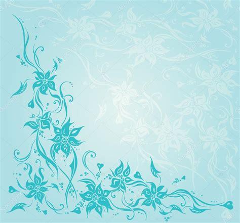 wedding invitation border designs aqua blue invitaci 243 n floral vintage turquesa dise 241 o de fondo de boda vector de stock 169 erinvilar 78921970