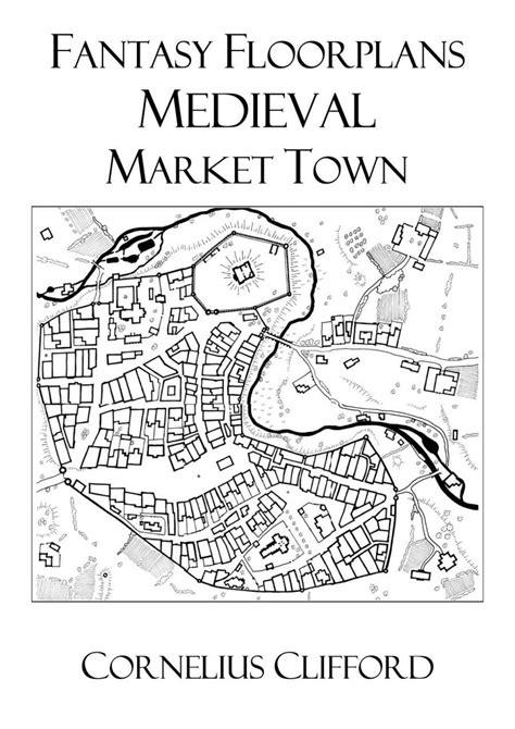fantasy floor plans medieval market town fantasy floorplans dreamworlds
