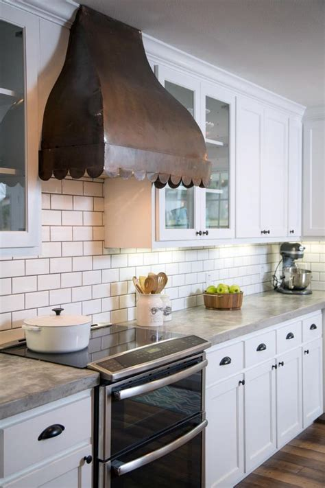 Kitchen Makeover Ideas From Fixer Upper Copper Tire Chip Gaines Concrete Countertops