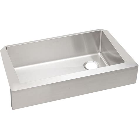 elkay stainless steel sinks elkay crosstown farmhouse apron front undermount stainless