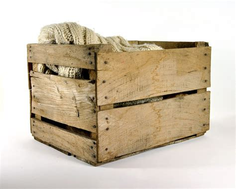 large wooden crates vintage rustic large wood crate