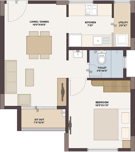 tree floor plan provident the tree in nagarbhavi bangalore price