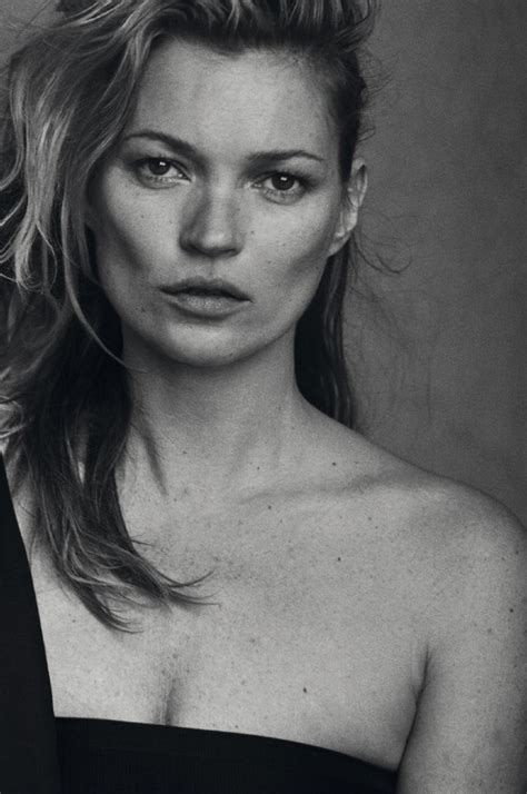 Who Is The Real Kate Moss by Unphotoshopped Kate Moss By Lindbergh Vogue Italia