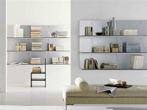libreria a parete sospesa pab libreria by b b italia design studio kairos