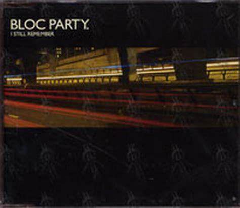 i still remember bloc party bloc party i still remember cd single ep rare records
