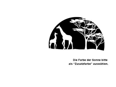 Wohnzimmer Grau Schwarz 3269 by Wandtattoo Steppe Mit Giraffen Wandtattoos De