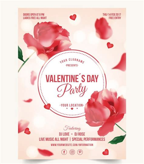 valentines posters 5 beautiful print ready valentine s day posters free