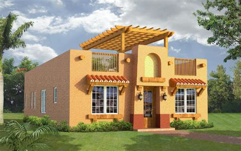 southwest style house plans belize real estate at waterside 1204 square foot model