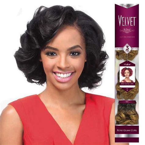 short jumbo curls weave outre remy human hair weave velvet romance curl 3pcs