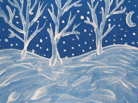 Painted winter scene 169 colline kook chun 2013