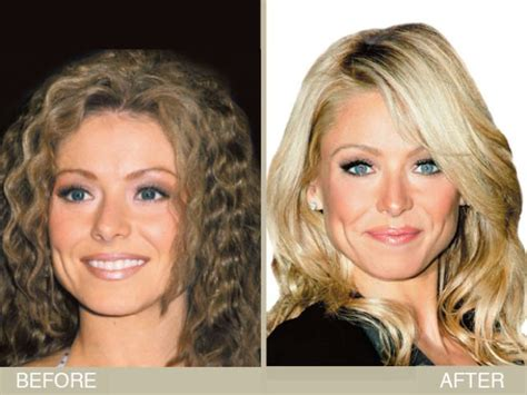 blonde hair color kelly ripa kelly ripa s brown to blonde hair makeover hair color