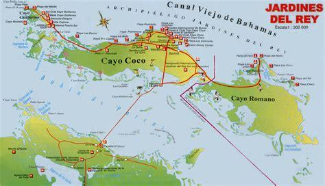 Cayo Coco Cuba Map