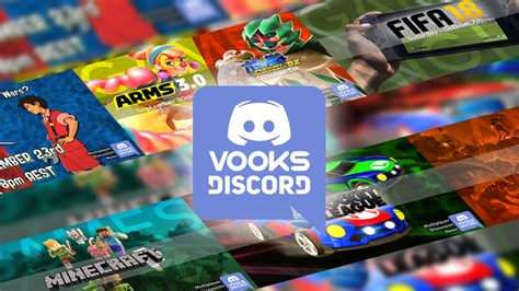 discord community upcoming events for the official vooks community discord