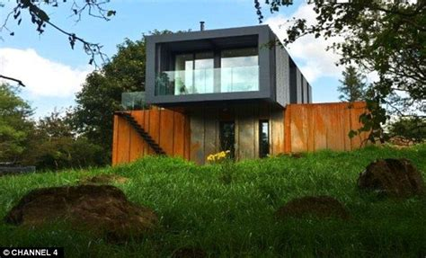 Storage Containers Homes Floor Plans by Grand Designs Shipping Container House Built By Farmer To