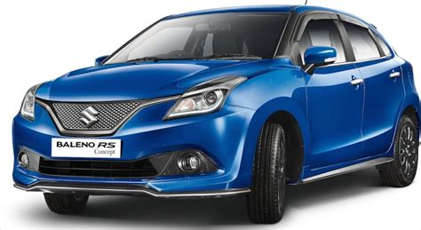 Auto Expo Suzuki Suzuki Baleno Rs Concept Shown At Delhi Auto Expo