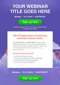 Free Newsletter Templates Html Email Templates Getresponse Free Webinar Templates