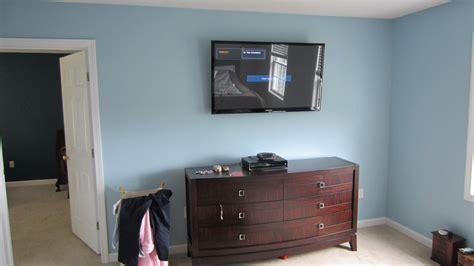 mounted tv in bedroom burlington ct tv mounting on wall in bedroom home