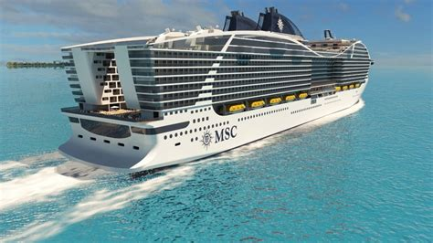 what is the cruise ship in the world msc cruises to build record breaking cruise ships cpp luxury
