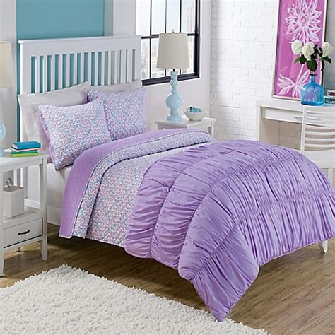 dena bedding dena comforter quilt set in purple bed bath beyond
