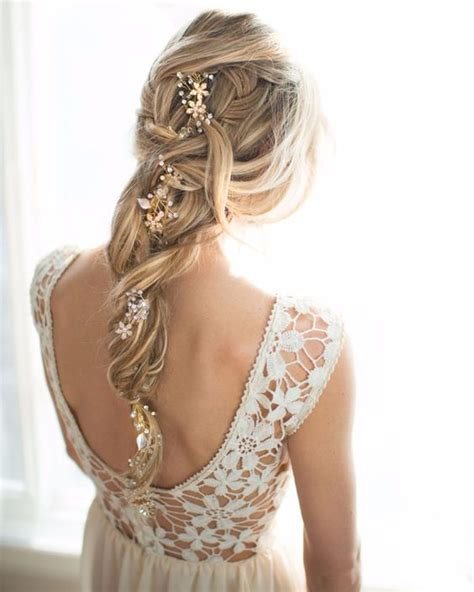 Wedding Hair With A Braid by Summer Wedding Hair 6 Tips And 27 Ideas Weddingomania
