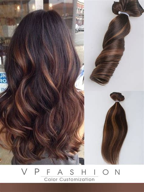 medium chocolate brown hair extensions remy indian hair medium brown with highlights indian remy hair extensions hs05b3027s brown ombre color hair