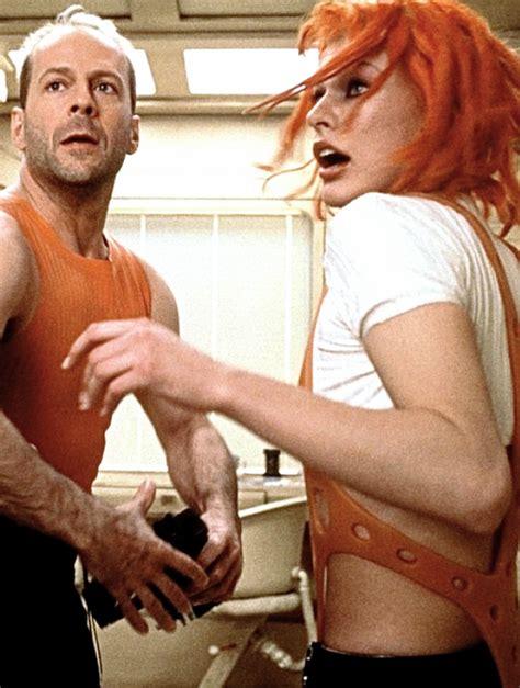 milla jovovich and bruce willis bruce willis and milla jovovich in the fifth element 1997