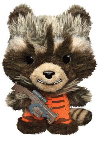 Rocket Raccoon 01 peluche rocket raccoon guardianes de la galaxia