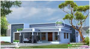Home Designe 1990 sq ft single floor 4 bhk modern home designs home
