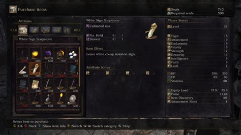 Souls How To Use White Sign Soapstone - souls iii how to co op using the white sign soapstone