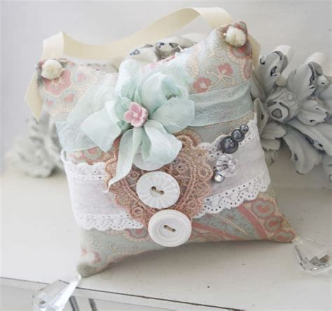 Handmade Pin Cushions - pin cushion handmade shabby chic sachets
