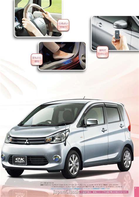 mitsubishi ek wagon mitsubishi ek wagon 2014 accessories b11w japanclassic