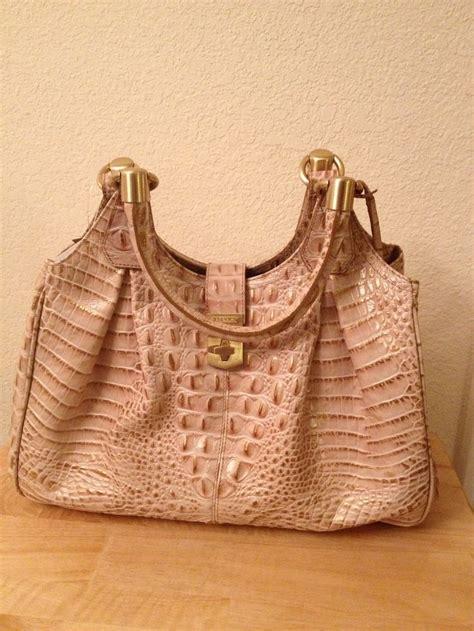 Handmade Leather Handbags Melbourne - brahmin elisa melbourne chagne handbags