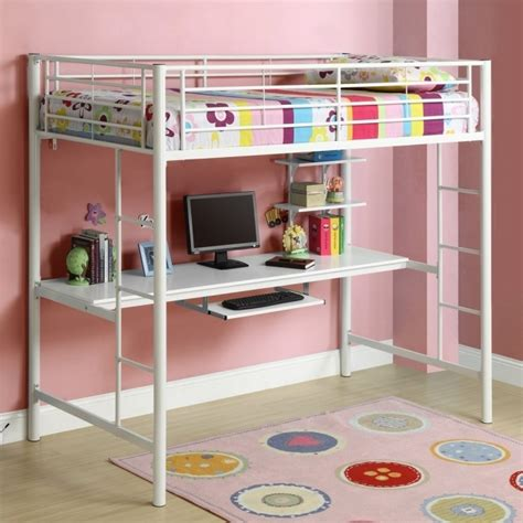 Childrens Bunk Beds With Desk And Futon by Bunk Bed With Desk Loft Bed Image 95 Bed Headboards