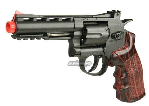 Airsoft Gun Revolver wg 4 quot revolver co2 airsoft gun black imitation wood