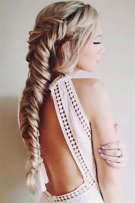 easy hairstyles with box fishtales fishtail braid hairstyles choose your fishbone braid style