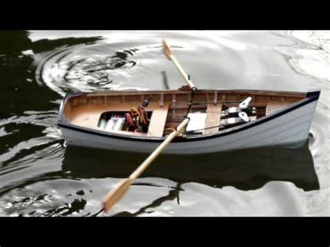 radio controlled model boats youtube radio control rc rowing boat powered by servos youtube