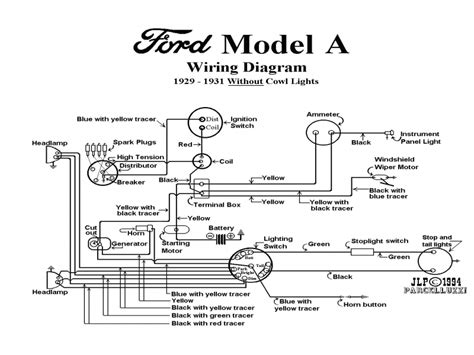 model t ford forum wiring diagrams and wire gauges also a