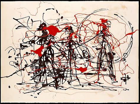 imagenes abstractas de jackson pollock jackson pollock la danse du pinceau