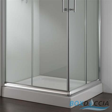 box doccia 68x68 shower enclosure cubicle 700x700 mm h1850 clear glass