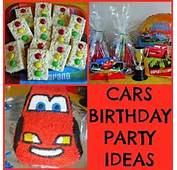 Below Are Some Of The Cars Decorations Treats And Fun Themed
