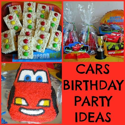 cars themed birthday ideas disney cars themed birthday party ideas
