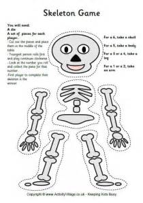 skeleton template printable skeleton