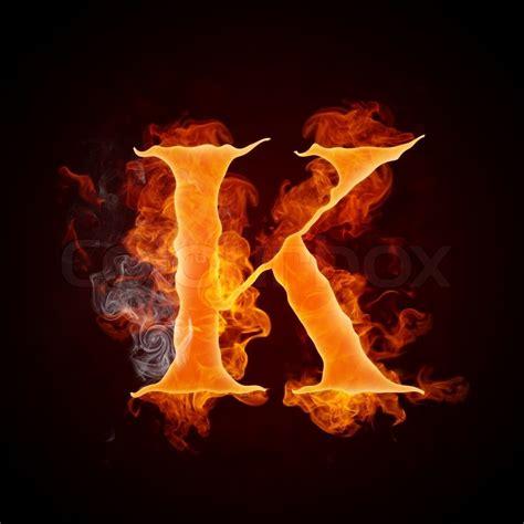 k r design letter k isolated on black background computer design
