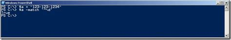 powershell pattern matching numbers use powershell to look for phone numbers in text hey
