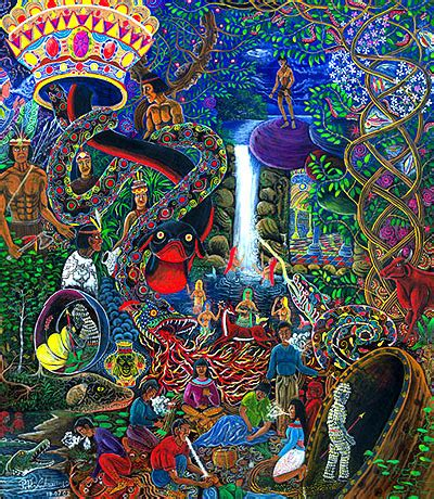 the visionary art of pablo amaringo