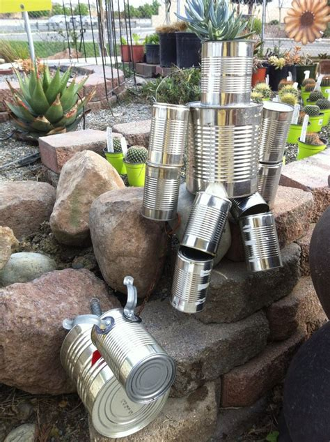 tin can garden tin can garden pinned it made it tin can crafts