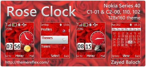 searching rose themes nokia 2690 search results for nokia 110 clock themes downloads