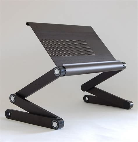 Ergonomic Laptop Stand For Desk Workez Executive Ergonomic Laptop Stand Black